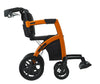 Rollz Motion - 2-in-1 Transport Chair and Rollator - Side View - Boomly