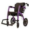 Purple Rollz Motion - 2-in-1 Transport Chair and Rollator- Boomly