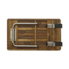 Teak Removable Bath Seat - Folding Teak Shower Seat - Boomly