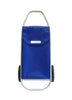 Stylish Blue Rolser Shopping Cart - 2 Wheel Rolling Shopping Trolley - Boomly