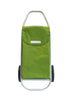 Stylish Green Rolser Shopping Cart - 2 Wheel Rolling Shopping Trolley - Boomly
