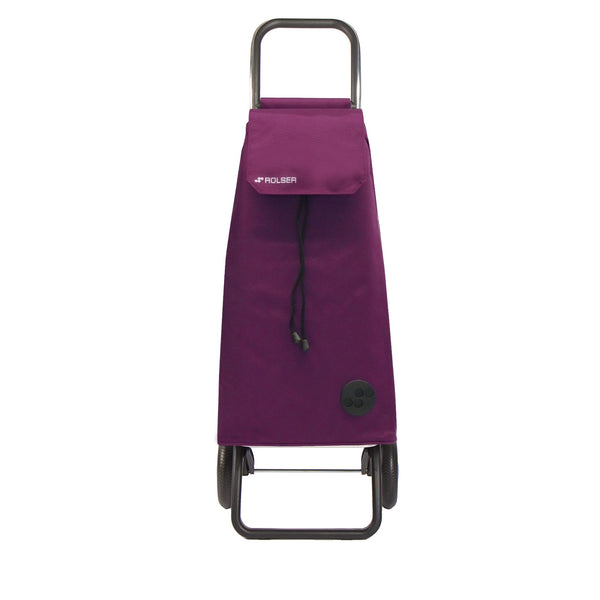 Rolser Mountain Rolling Shopping Cart Purple -  Rolling Shopping Trolley -Boomly