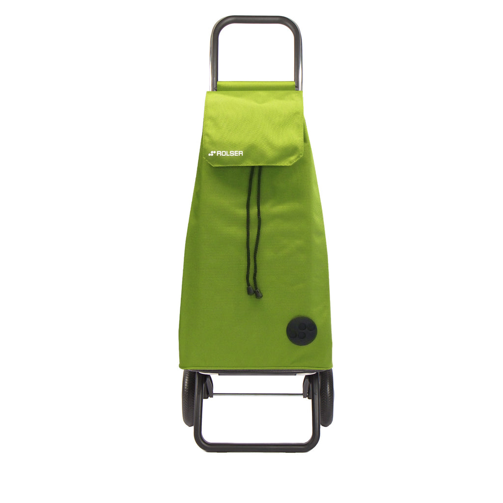 Rolser Mountain Rolling Shopping Cart Lime -  Rolling Shopping Trolley -Boomly
