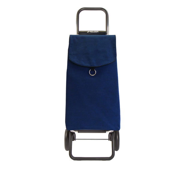 Rolser Eco Rolling Folding Shopping Cart Blue -  Rolling Shopping Trolley -Boomly