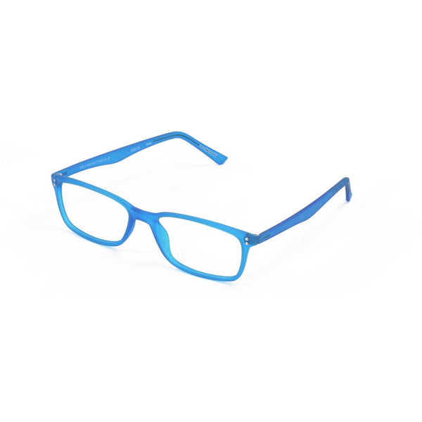 Blue Gels Manhattan Readers - Scojo New York Designer Reading Glasses - Boomly