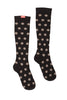 Stylish polka dot compression socks - Vim & Vigr - Boomly