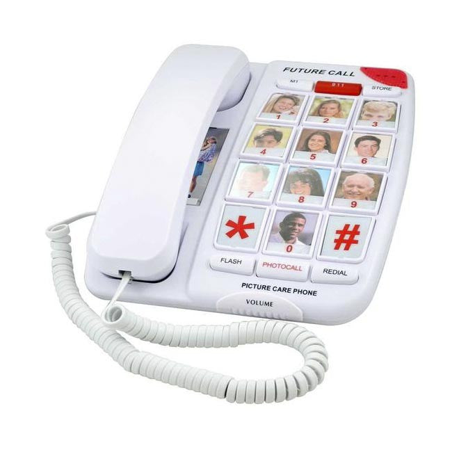 Picture Care Senior Friendly Phone - Boomly
