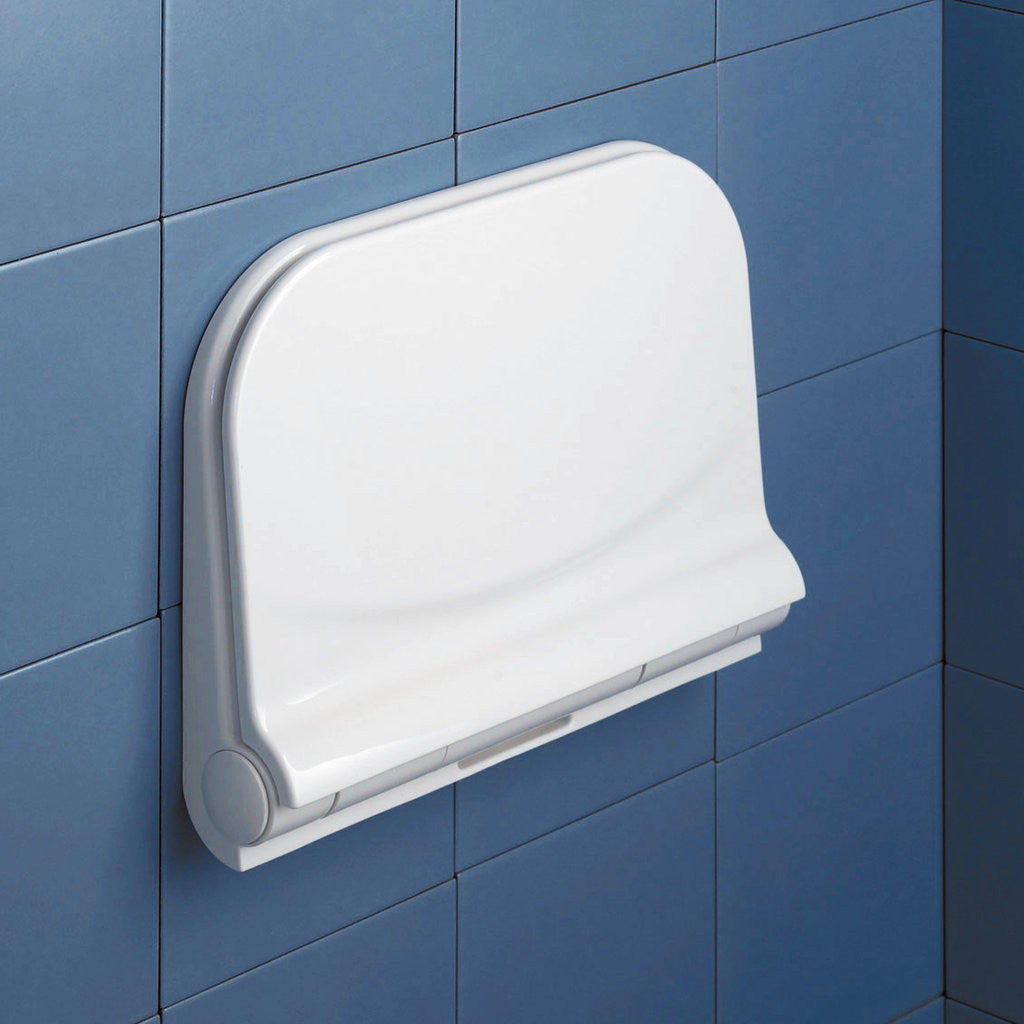 Modern Wall Mounted Folding Shower Seat by Gedy - Boomly