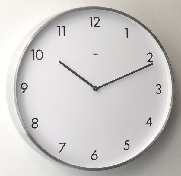 Large minimalist wall clock - Bai designs - Boomly