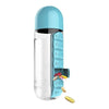 Cute pill box and water bottle - Asobu - Boomly