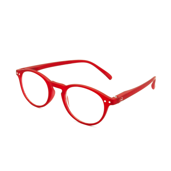 SEE Concept Reading Glasses - Red Designer Reading Glasses - Boomly