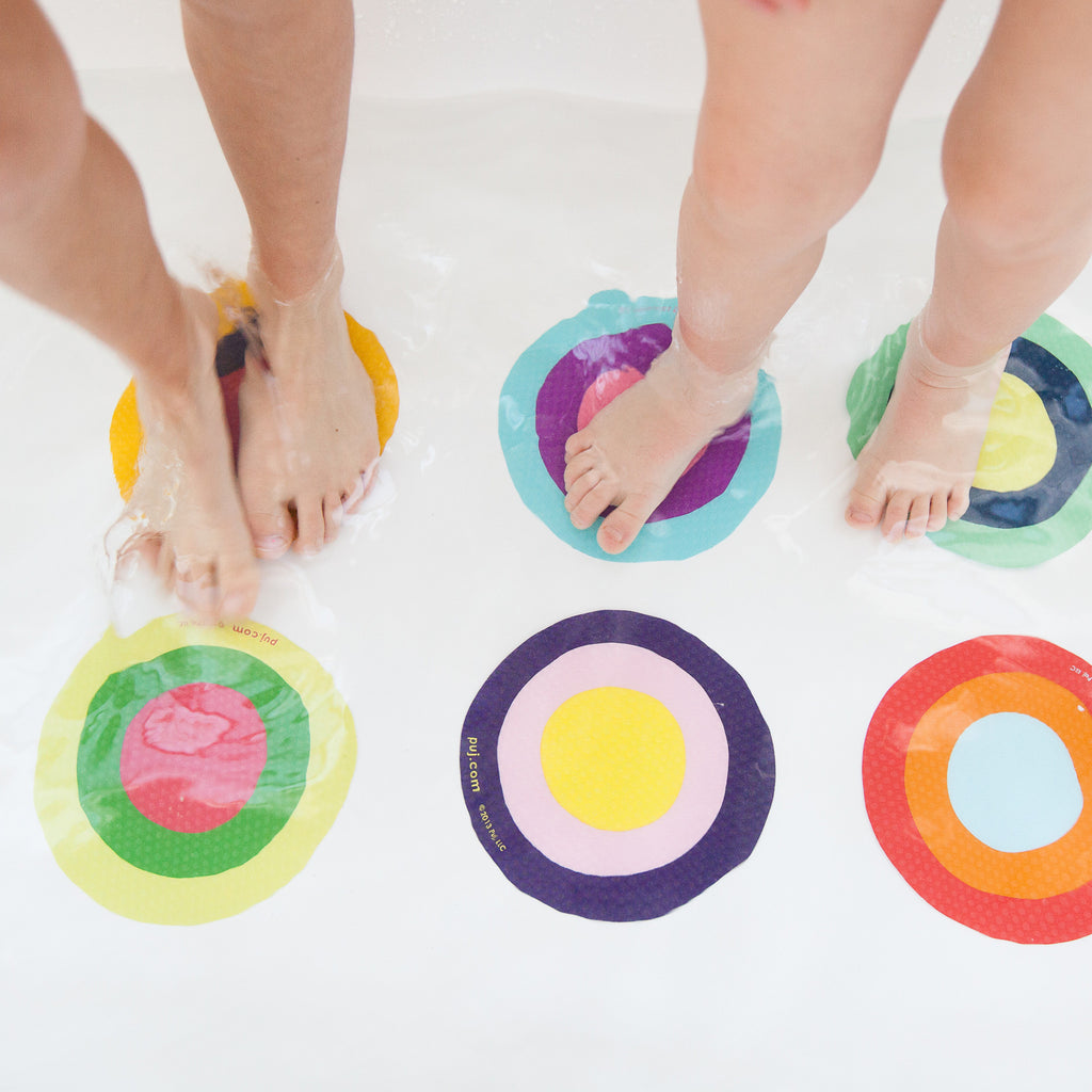 Colorful and Stylish Puj Bath Treads - Boomly