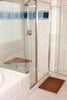Teak Shower Seat - Corner Shower Bench - Boomly