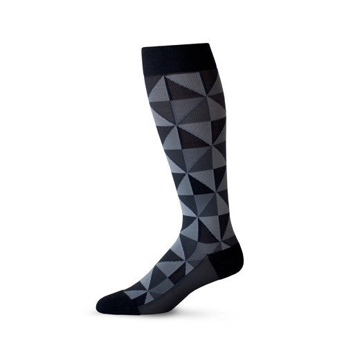 Fashionable patterned compression socks