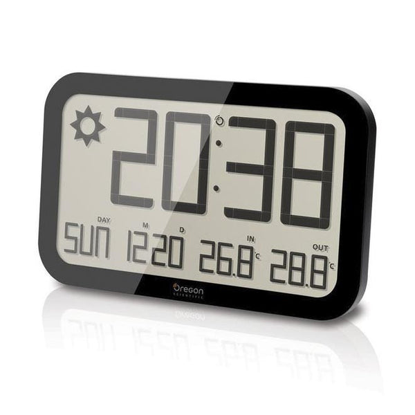 Large Digital Wall Clock - Jumbo Atomic Clock - Boomly