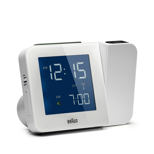 Cool alarm clock white Braun - Boomly