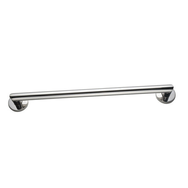 "Modern 24"" Stainless Steel Grab Bar - Boomly"
