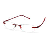 Scojo New York Gel Readers - Red Designer Reading Glasses - Boomly