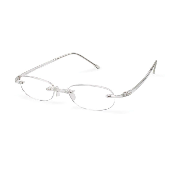 Scojo New York Gel Readers - Clear Designer Reading Glasses - Boomly