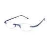 Scojo New York Gel Readers - Navy Designer Reading Glasses - Boomly
