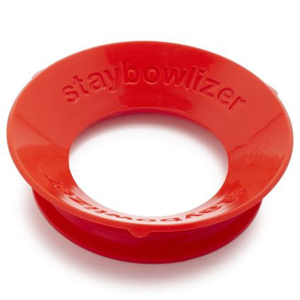 Red Staybowlizer Bowl Stand - Boomly