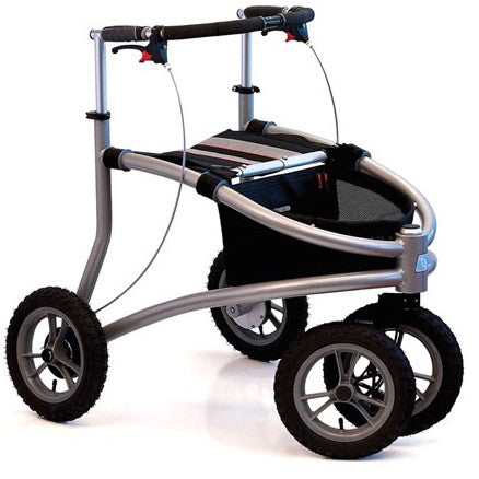 Trionic Veloped Tour 14er Rollator - Boomly