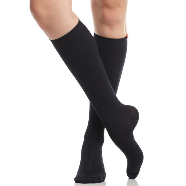 Fashion black compression socks - Vim & Vigr - Boomly