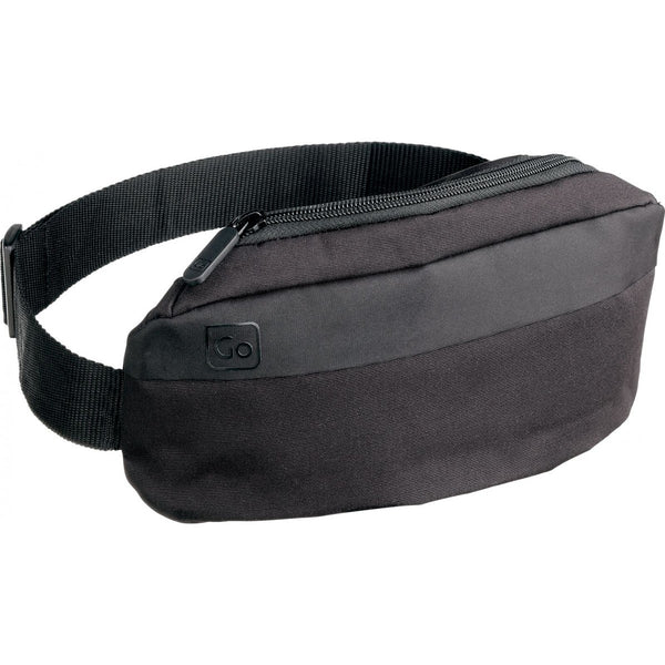 Fanny Pack - Black Travel Hip Pouch - Design Go - Boomly