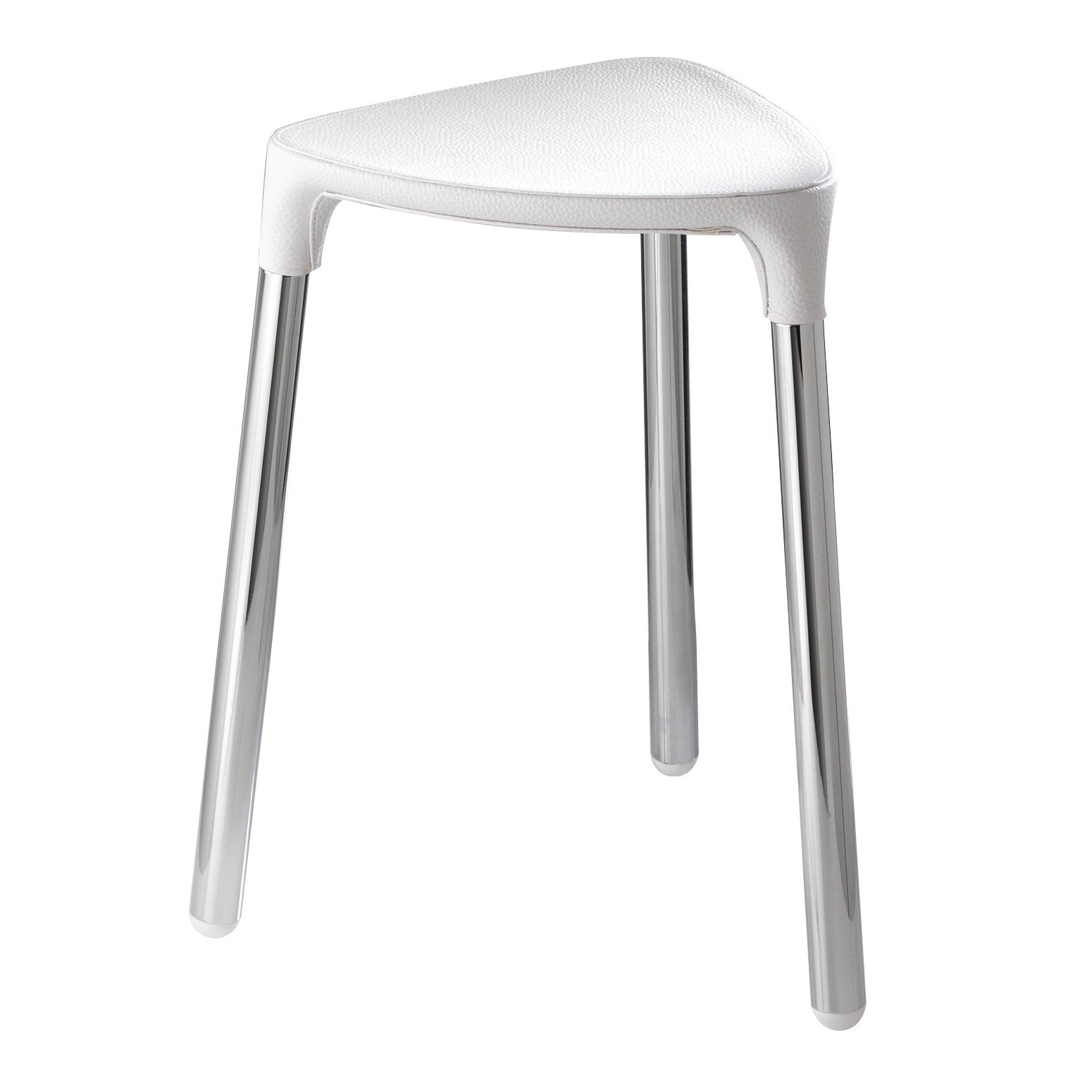 ... White Shower Stool   Yannis Gedy   Boomly
