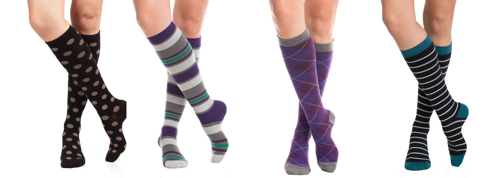 Shop fashionable compression socks: Vim & VIgr and Top & Derby