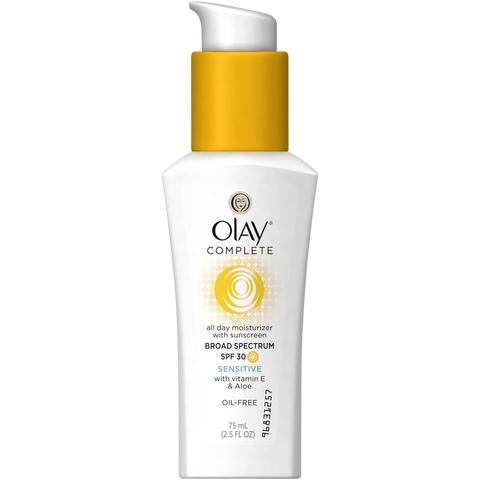 Olay Complete Daily Defense All Day Moisturizer With Sunscreen SPF30 Sensitive Skin