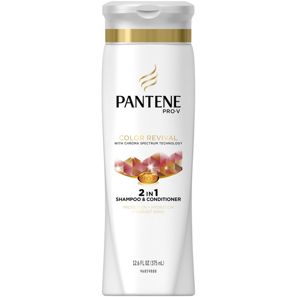 Pantene Pro-V Color Preserve Shine 2-In-1 Shampoo & Conditioner 12 6 Fl Oz