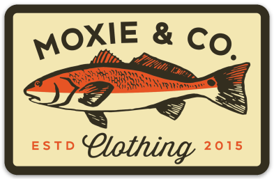 Moxie & Co. Redfish Sticker