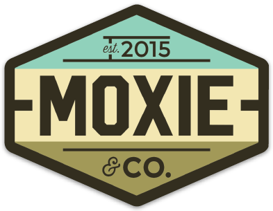 Moxie & Co. Retro Sticker