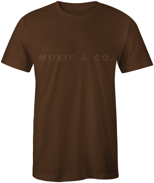 Moxie & Co. Traditional Tee - Brown