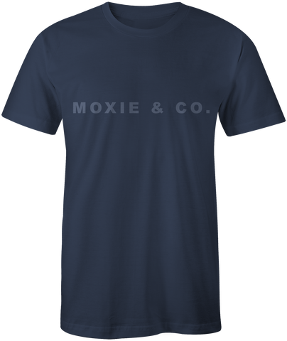 Moxie & Co. Tradition Tee - Navy