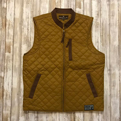 The Sportsman Vest - Bronze Brown