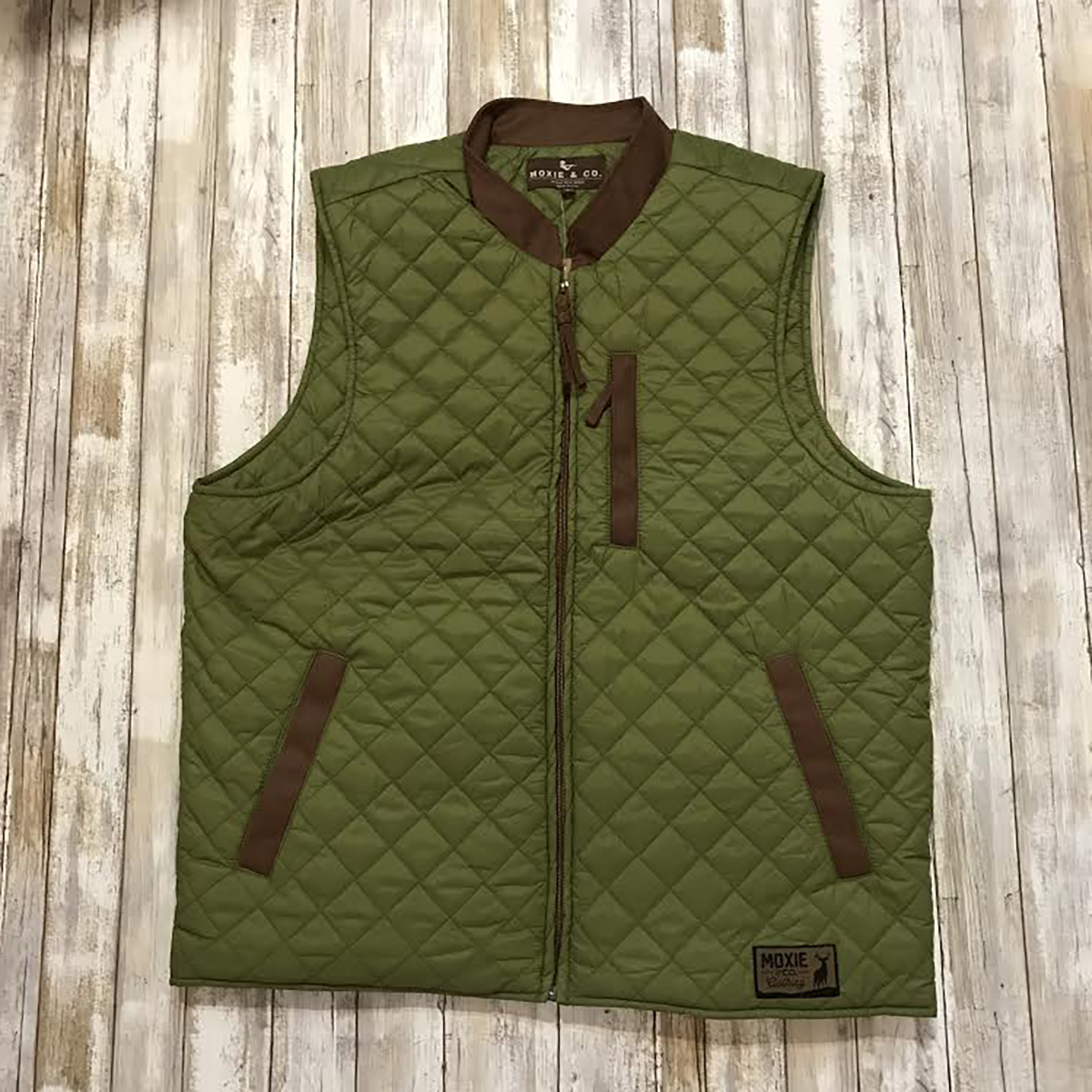 The Sportsman Vest - Green