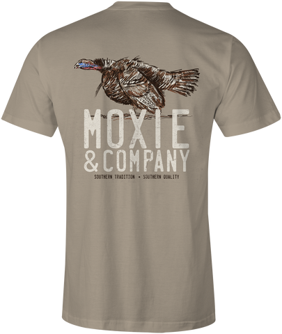 Moxie & Co. Gobble Tee - Tan