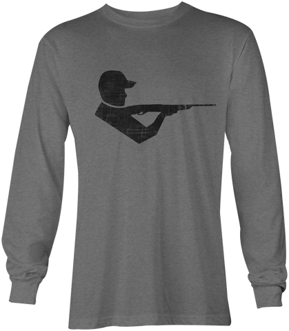 Moxie & Co. Shooter Tee - Long Sleeve ( Heather Grey )