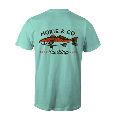 REDFISH TEE (MINT)