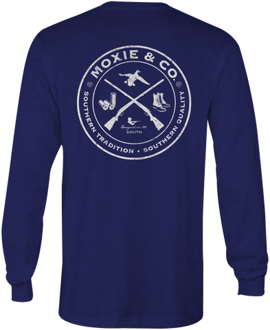 Moxie & Co. Sportsman Club (Navy)