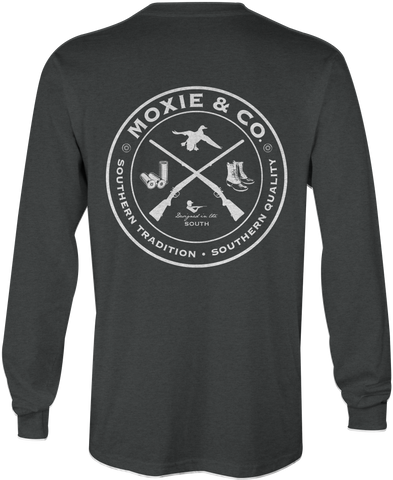 Moxie & Co. Sportsman Club (Dark Heather Grey)
