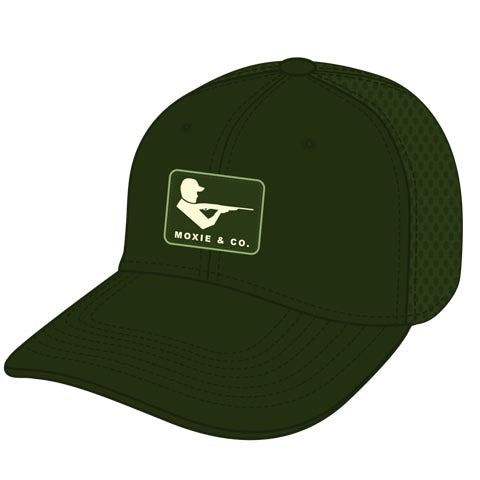 Moxie Waxed Mesh Hat - Hunter Green