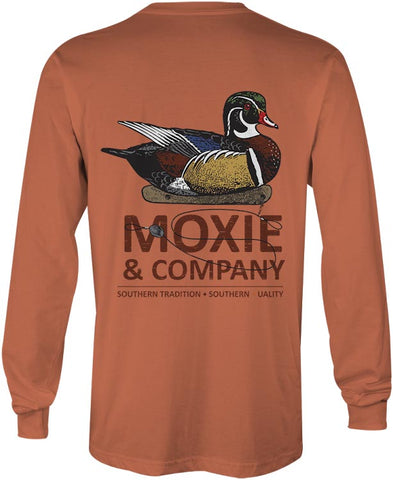 Moxie & Co. Wood Duck Tee