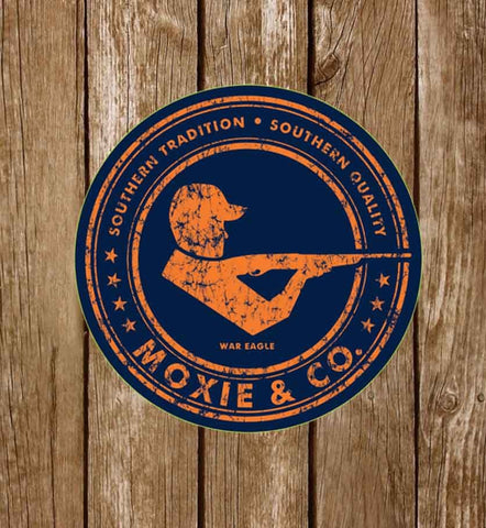 Moxie & Co. Collegiate Sticker - War Eagle