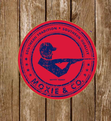 Moxie & Co. Collegiate Stickers - Hotty Toddy