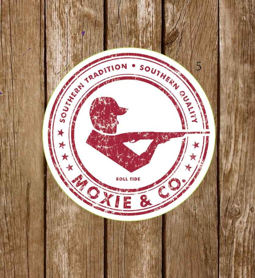 Moxie & Co. Collegiate Stickers - Roll Tide - Moxie & Co.