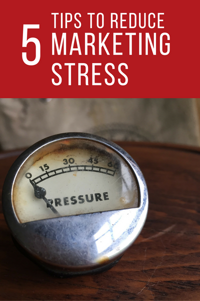 Five Tips to Reduce Social Media Marketing Stress