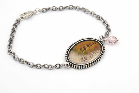 Enamel Bracelet with Gift Message